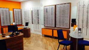 Bainbridge optometrists, Redditch
